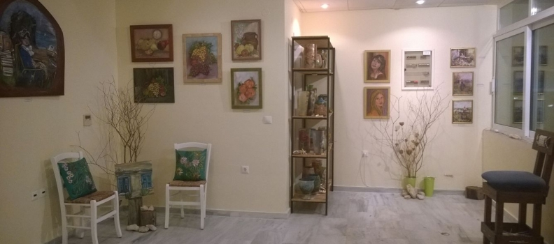 PAINTING EXHIBITION 20/07/2014 SAMOS MARINA